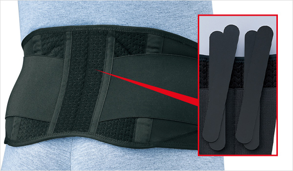優れた耐久性・適正な装着維持